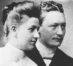 Marie Lemke und Georg Bock